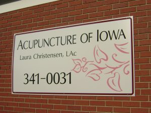 Acupuncture of Iowa Iowa City outside sign
